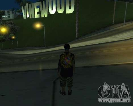 New Armenian Skin para GTA San Andreas sexta pantalla