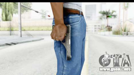 GTA 5 Vintage Pistol para GTA San Andreas tercera pantalla