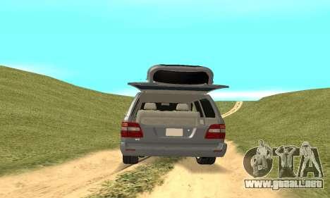 Toyota Land Cruiser 100 para visión interna GTA San Andreas