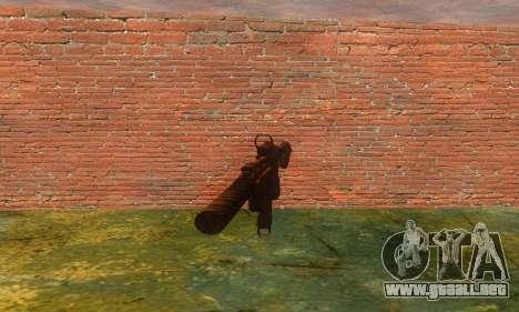 Noveske Diplomat 7.5 para GTA San Andreas segunda pantalla