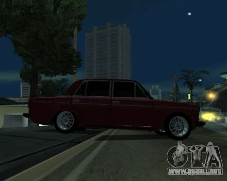 VAZ 2106 armenia para vista lateral GTA San Andreas