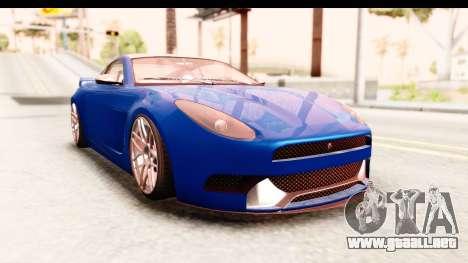 GTA 5 Ocelot Lynx para GTA San Andreas