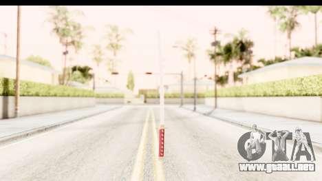 Bleach - Rukia Weapon para GTA San Andreas tercera pantalla