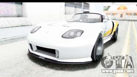 GTA 5 Bravado Banshee 900R Mip Map para visión interna GTA San Andreas