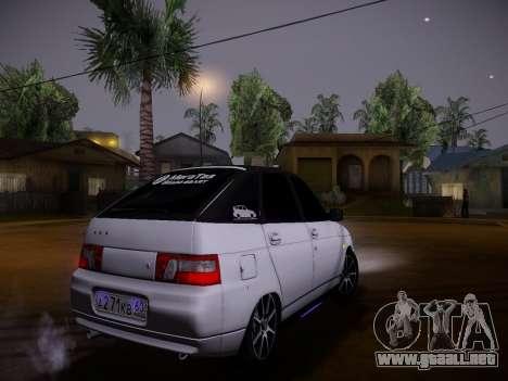 VAZ 2112 GVR calidad para visión interna GTA San Andreas