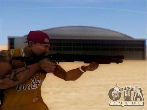 GTA V Shrewsbury Pump Shotgun para GTA San Andreas tercera pantalla