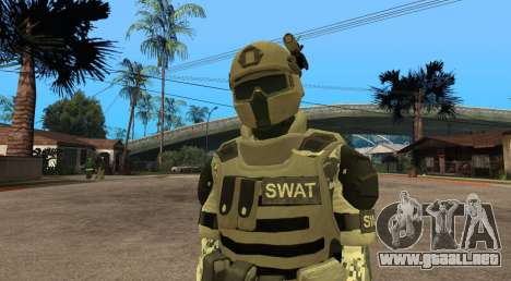 Elite GENSEC PAYDAY 2 SWAT Unit para GTA San Andreas