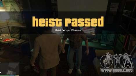 GTA 5 Story Mode Heists [.NET] 1.2.3 noveno captura de pantalla
