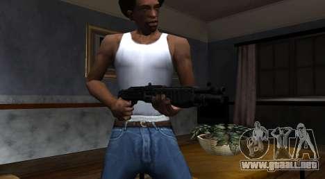 SPAS-12 Black Mesa para GTA San Andreas tercera pantalla