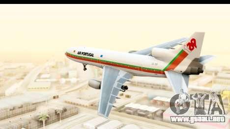 Lockheed L-1011-100 TriStar TAP Portugal para la visión correcta GTA San Andreas
