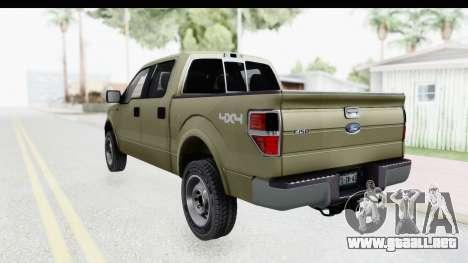 Ford F-150 Stock para GTA San Andreas left