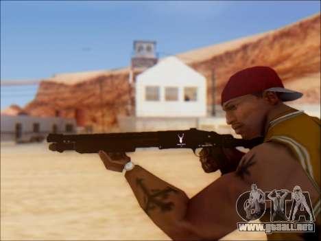 GTA V Shrewsbury Pump Shotgun para GTA San Andreas sucesivamente de pantalla