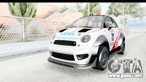 GTA 5 Grotti Brioso RA para visión interna GTA San Andreas