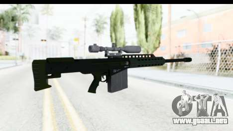 GTA 5 Vom Feuer Heavy Sniper para GTA San Andreas segunda pantalla