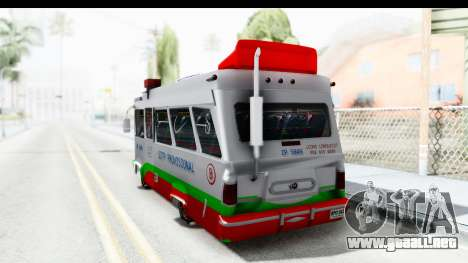 Dodge 300 Microbus para GTA San Andreas left