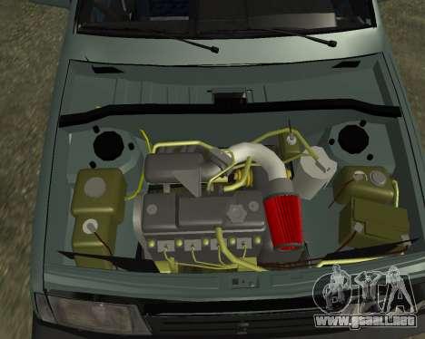 Vaz 21099 ARMNEIAN para las ruedas de GTA San Andreas
