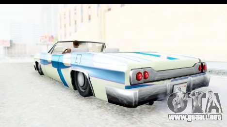 Blade New PJ para visión interna GTA San Andreas