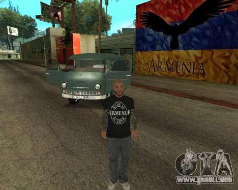 Eraz 762 Armenian para vista lateral GTA San Andreas