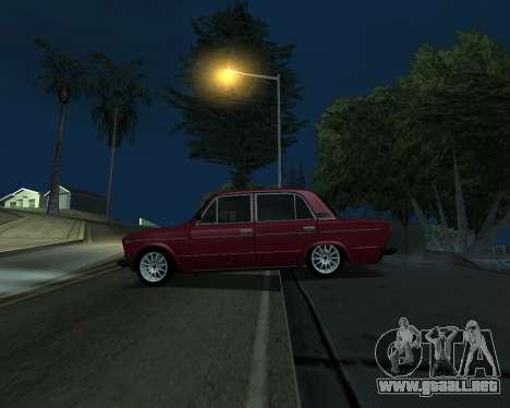 VAZ 2106 armenia para GTA San Andreas vista hacia atrás