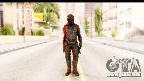 Homefront The Revolution - KPA v2 Camo para GTA San Andreas segunda pantalla