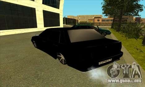 2115 para GTA San Andreas vista posterior izquierda