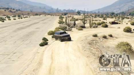 GTA 5 Off-roading Rancher cuarto captura de pantalla