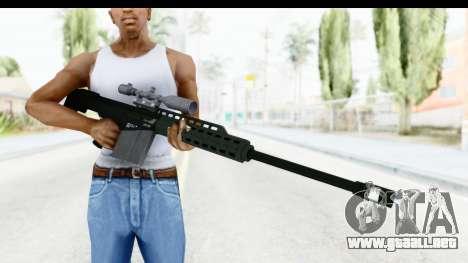GTA 5 Vom Feuer Heavy Sniper para GTA San Andreas tercera pantalla