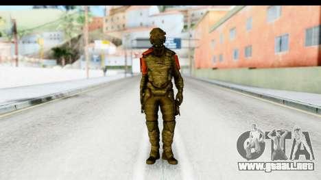 Homefront The Revolution - KPA v1 Camo para GTA San Andreas segunda pantalla