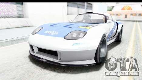 GTA 5 Bravado Banshee 900R Mip Map para GTA San Andreas interior