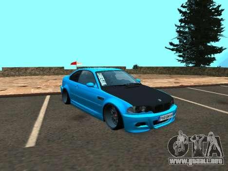 BMW M3 E46 Postura para GTA San Andreas left