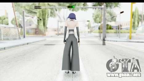 Bleach - Soifon para GTA San Andreas tercera pantalla