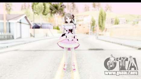 CGSS - Uzuki Peacefull Dance Rilaneko para GTA San Andreas segunda pantalla