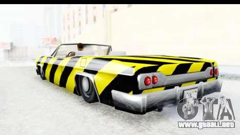 Blade New PJ para GTA San Andreas left