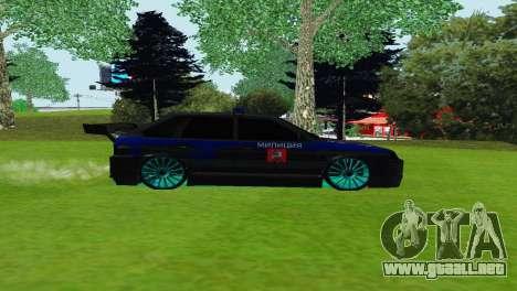 VAZ 2114 DPS para GTA San Andreas left