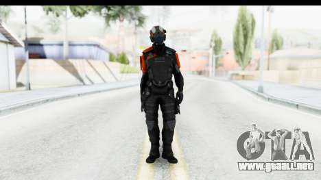 Homefront The Revolution - KPA v5 Black para GTA San Andreas segunda pantalla