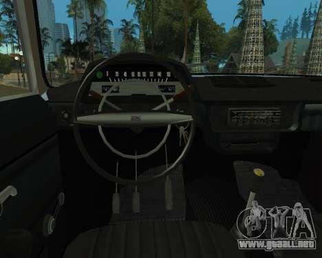 Moskvich 2715 De Armenia para GTA San Andreas vista posterior izquierda