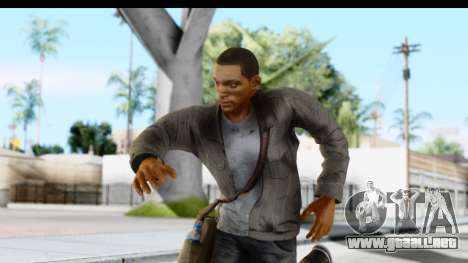 I Am Legend - Will Smith v2 Fixed para GTA San Andreas