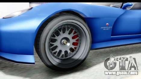 GTA 5 Bravado Banshee 900R Mip Map para GTA San Andreas vista hacia atrás