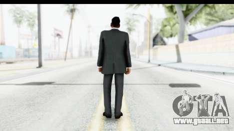 Messi Formal v2 para GTA San Andreas tercera pantalla
