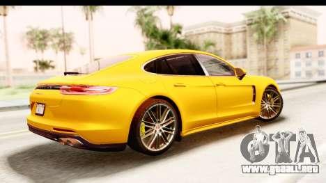 Porsche Panamera 4S 2017 v3 para GTA San Andreas left