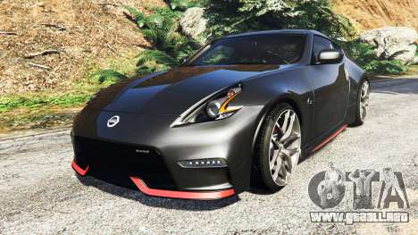 Nissan 370Z Nismo Z34 2016 [add-on] para GTA 5