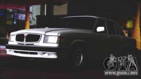 GAZ 3110 Calidad del agua de Escorrentía para la visión correcta GTA San Andreas