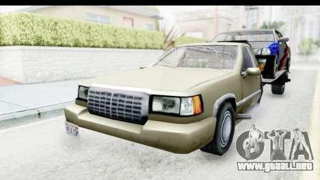 Limousine Auto Transporter para la visión correcta GTA San Andreas