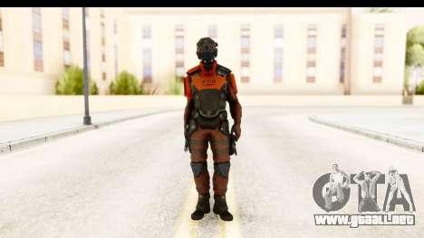 Homefront The Revolution - KPA v5 Red para GTA San Andreas segunda pantalla