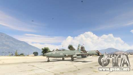 GTA 5 AT-26 Impala Xavante ARG segunda captura de pantalla