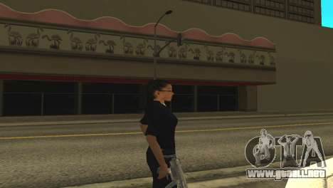 La piel de una mujer policía para GTA San Andreas segunda pantalla