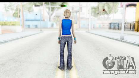 Silent Hill 3 - Heather Sporty Super Girl para GTA San Andreas tercera pantalla