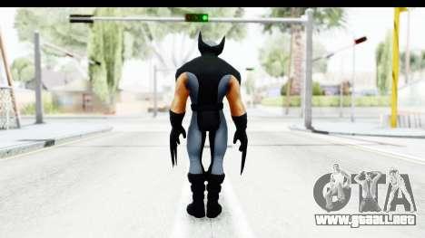 Marvel Heroes - Wolverine Xforce para GTA San Andreas tercera pantalla