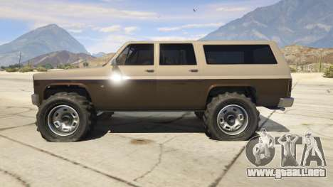 GTA 5 Off-roading Rancher segunda captura de pantalla