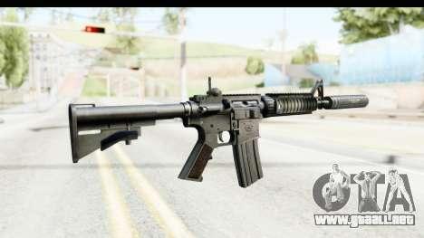 AR-15 Silenced para GTA San Andreas segunda pantalla